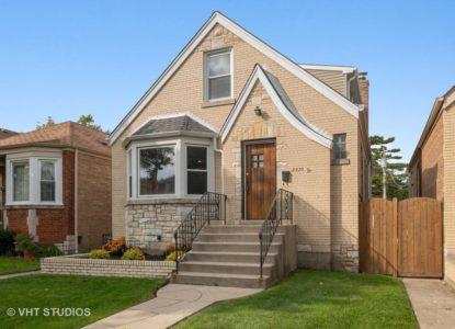 Maison classique à vendre à Chicago USA