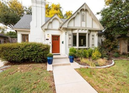Maison classique et moderne à Dallas, USA
