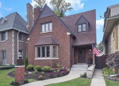 Plaisante villa 4 chambres à vendre Chicago USA