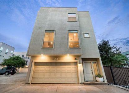 Villa à étages 2 chambres à vendre Dallas USA
