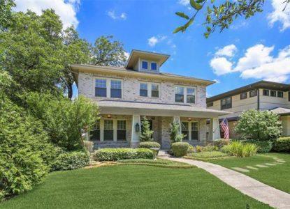Villa abordable avec jardin à vendre Dallas, USA
