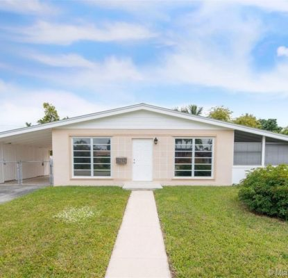 Villa plain-pied confortable à Miami, Floride, USA