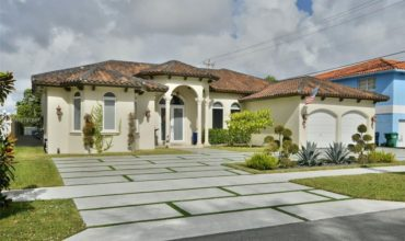 Villa de 4 chambres à Miami, Floride, USA