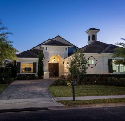 Plain pied 3 chambres 3 salles de bain Orlando Floride – USA