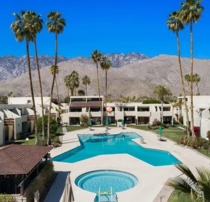 Appartement 1 chambre, Palm Springs, Californie USA