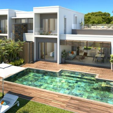 Villas Emeraude Anahita, La Place Belgath, île Maurice