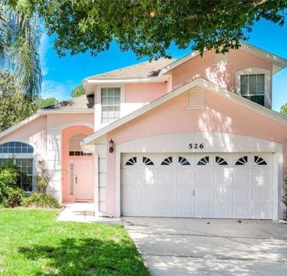 Villa meublée 4 chambres 2.5 salles de bain Orlando Floride